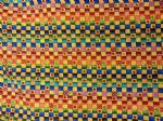 MULTI CUBE COLOUR - Fabric 100% Cotton - Price Per Metre